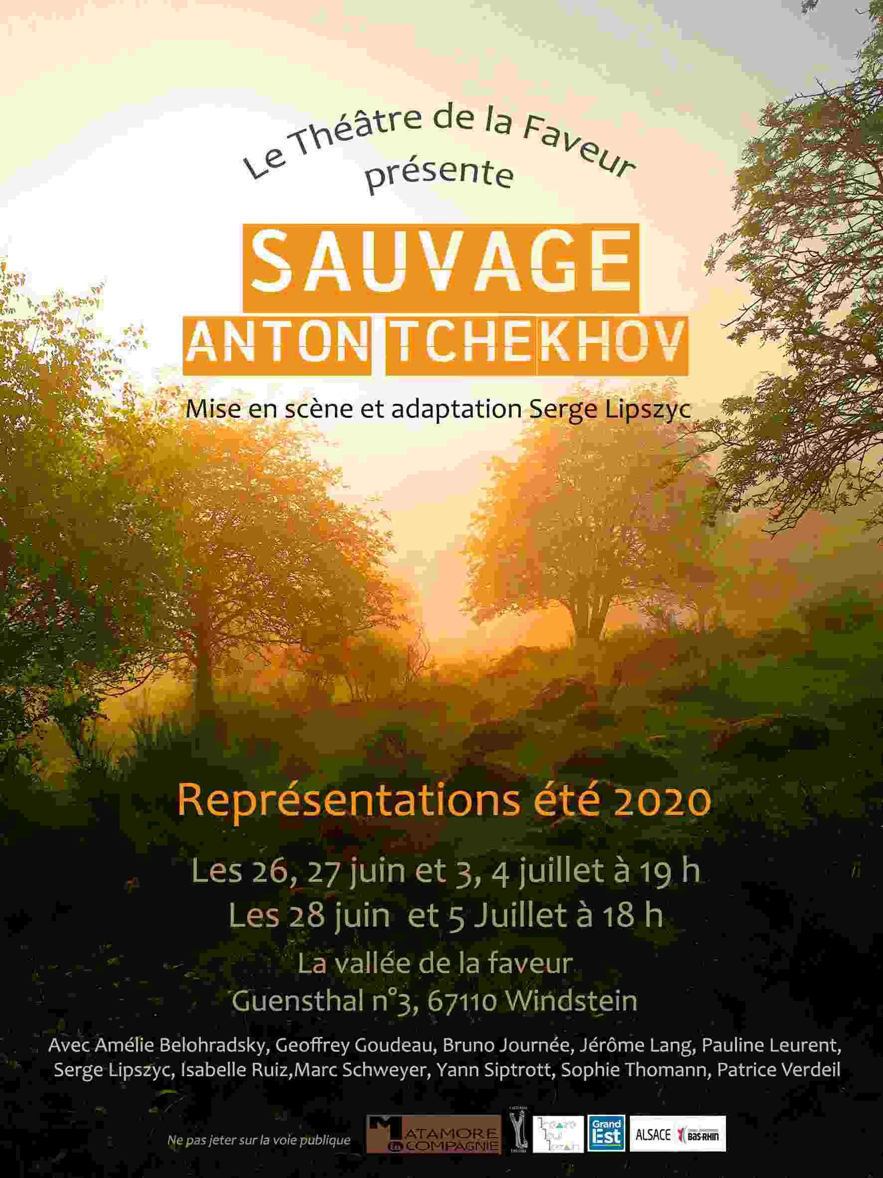 Sauvage - La Compagnie du Matamore